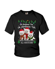Persian Cat Ornaments Tree 2210  Youth T-Shirt thumbnail