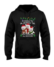 Persian Cat Ornaments Tree 2210  Hooded Sweatshirt thumbnail
