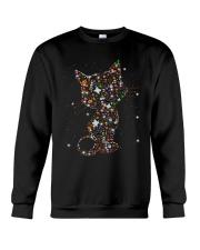 Cat Halloween Crewneck Sweatshirt front