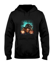 Cat light and pumpkin Hooded Sweatshirt thumbnail
