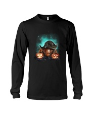 Cat light and pumpkin Long Sleeve Tee thumbnail
