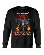 Black Cat Family Halloween Crewneck Sweatshirt thumbnail