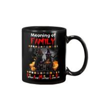 Black Cat Family Halloween Mug thumbnail