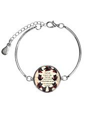 THEIA Black Cat Good Luck 1107 Metallic Circle Bracelet thumbnail