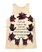 THEIA Black Cat Good Luck 1107 All-over Unisex Tank back