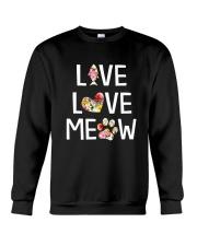 Cat meow 1907 Crewneck Sweatshirt thumbnail