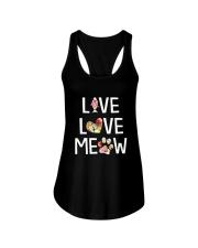 Cat meow 1907 Ladies Flowy Tank thumbnail