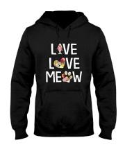 Cat meow 1907 Hooded Sweatshirt thumbnail