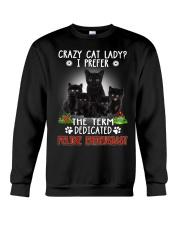 Crazy Cat Lady Crewneck Sweatshirt thumbnail
