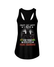 Crazy Cat Lady Ladies Flowy Tank thumbnail