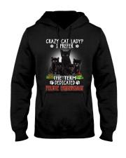 Crazy Cat Lady Hooded Sweatshirt thumbnail