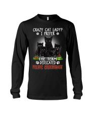 Crazy Cat Lady Long Sleeve Tee thumbnail