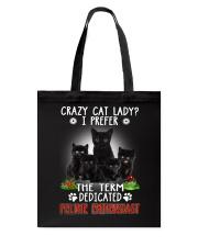 Crazy Cat Lady Tote Bag thumbnail