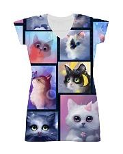 Cat bubble 0211 All-over Dress thumbnail