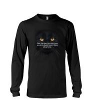 Black Cat Stay low key 1311 Long Sleeve Tee thumbnail