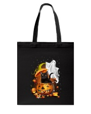 Black Cat and Ghost 0708 Tote Bag thumbnail