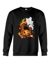 Black Cat and Ghost 0708 Crewneck Sweatshirt thumbnail