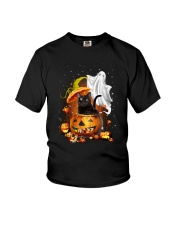 Black Cat and Ghost 0708 Youth T-Shirt thumbnail