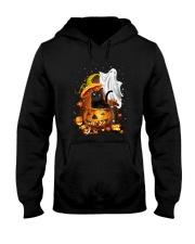 Black Cat and Ghost 0708 Hooded Sweatshirt thumbnail