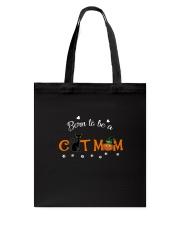 Born To Be A Cat Mom 2209 Tote Bag thumbnail