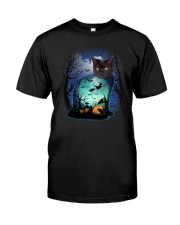 Cat in cat 3107 Classic T-Shirt front