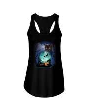 Cat in cat 3107 Ladies Flowy Tank thumbnail