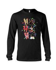 Ho Ho Ho Cat Paw Long Sleeve Tee tile
