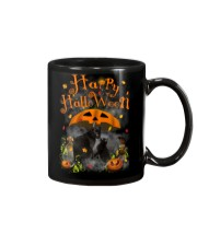 Black Cat Happy Halloween Mug thumbnail