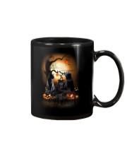 Blackcat Family Halloween  Mug thumbnail