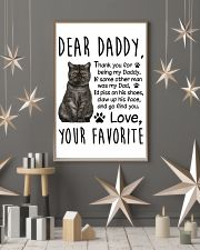 Exotic Shorthair Dear Daddy 1412 11x17 Poster lifestyle-holiday-poster-1