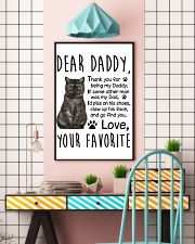 Exotic Shorthair Dear Daddy 1412 11x17 Poster lifestyle-poster-6