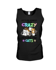 Cats I was crazy Unisex Tank thumbnail