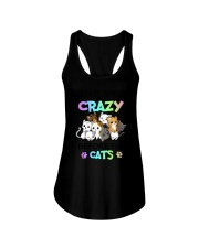 Cats I was crazy Ladies Flowy Tank thumbnail