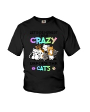 Cats I was crazy Youth T-Shirt thumbnail