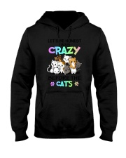 Cats I was crazy Hooded Sweatshirt thumbnail