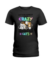 Cats I was crazy Ladies T-Shirt tile