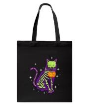 Cat skeleton 0308 Tote Bag thumbnail
