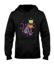 Cat skeleton 0308 Hooded Sweatshirt thumbnail
