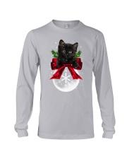 Black cat Snowball 0712 Long Sleeve Tee thumbnail