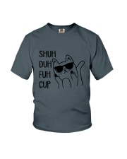 Cat shuh cup  Youth T-Shirt tile