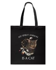 Cat spirit Tote Bag thumbnail