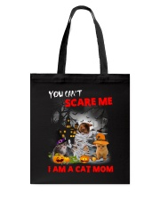 You Cant Scare Me Tote Bag thumbnail