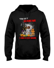 You Cant Scare Me Hooded Sweatshirt thumbnail
