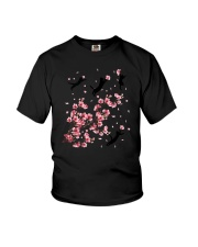 Blackcat Blossom Youth T-Shirt tile