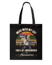 My Kid Cats Tote Bag thumbnail