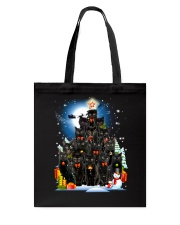 Black Cat Christmas 3007 Tote Bag thumbnail