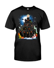 Black Cat Christmas 3007 Classic T-Shirt thumbnail
