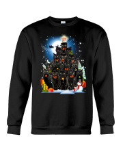 Black Cat Christmas 3007 Crewneck Sweatshirt thumbnail