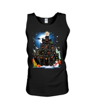 Black Cat Christmas 3007 Unisex Tank thumbnail