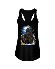 Black Cat Christmas 3007 Ladies Flowy Tank thumbnail